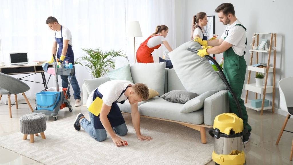 Inhabitr Furniture Sanitization