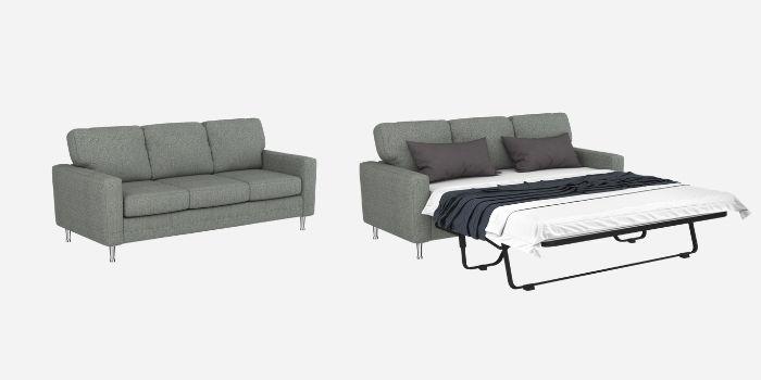 Inhabitr_Milton Soho III Linen Sleeper Sofa