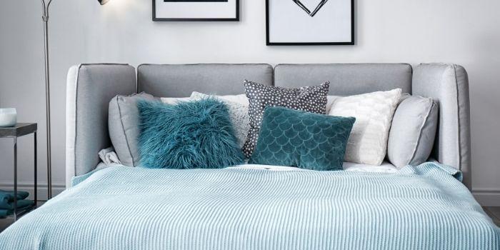 Inhabitr_Sleeper Sofa