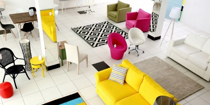 Inhabitr furniture options