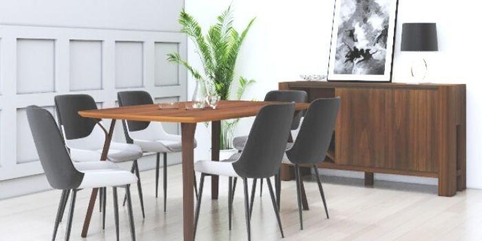 Inhabitr_Oden Dining Room Set