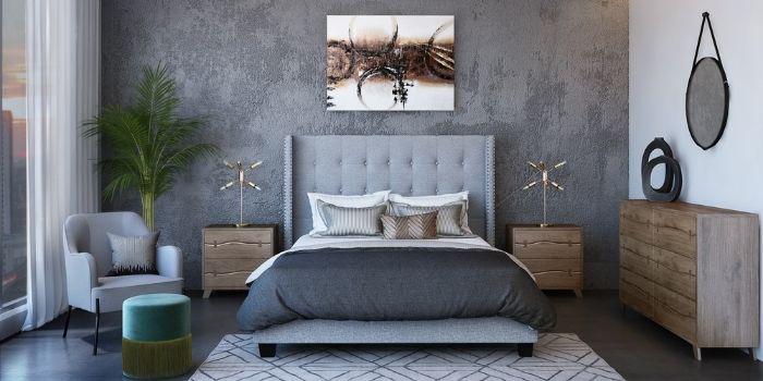 Inhabitr_Harte Bedroom Set
