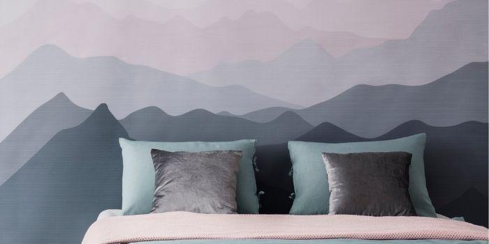 Inabitr_Hand Painted Wallpaper