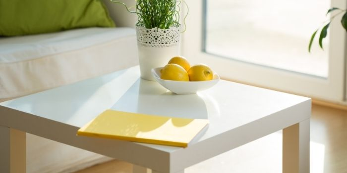 Inhabitr_Painted Coffee Table