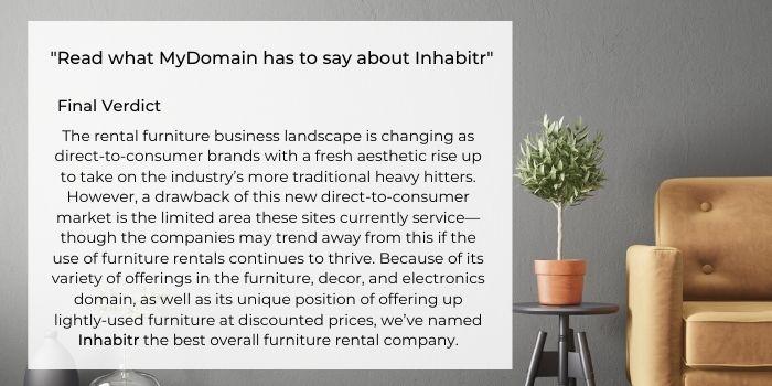 Inhabitr named 2021's Best Furniture Rental Company_Mydomain