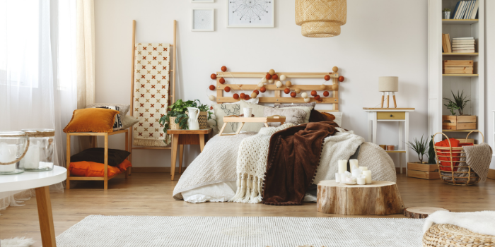 Inhabitr_Add Layers to your Bedroom:
